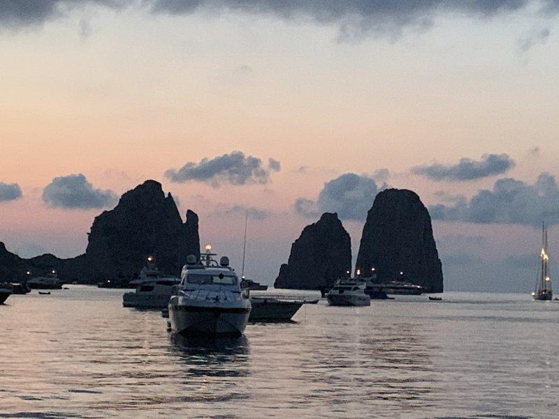 Sailing: Capri, Amalfi, Positano